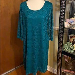 Dana Buchman Pretty Sheath Dress XL
